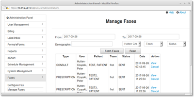 15 Manage Faxes