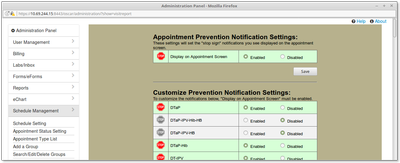 15 Prevention Notification Management