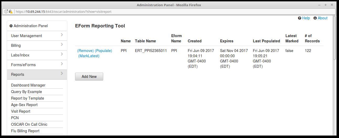 15 eForm Report tool