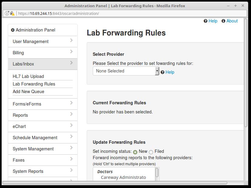 15 Lab FOrwarding