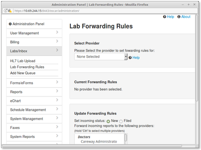 15 Lab FOrwarding