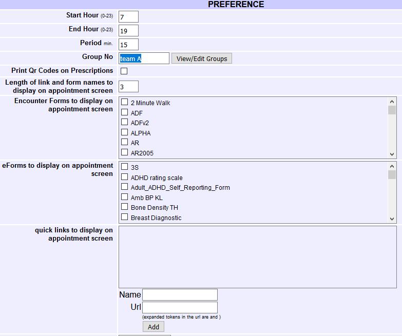 15 Preference
