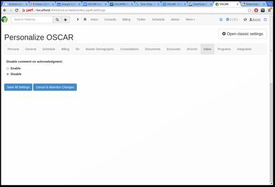 14 Inbox MD settings
