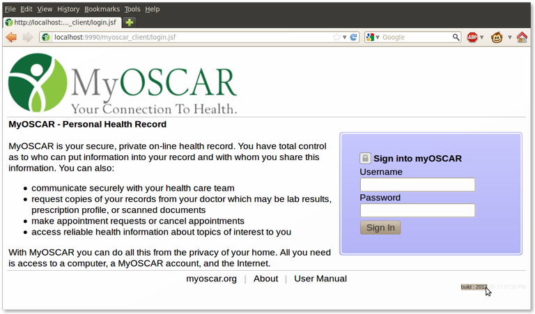 MyOscar Client Login