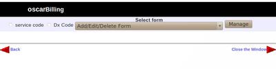 Add Edit Delete Billing Form