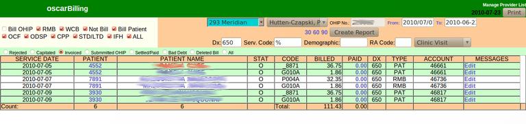 Invoice Status