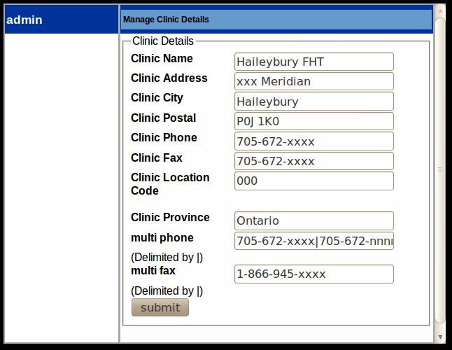 11x Clinic Admin