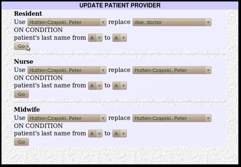 11x Patient Provider Update