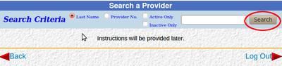 Search Provider