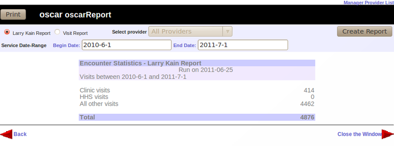 Larry Kain Report
