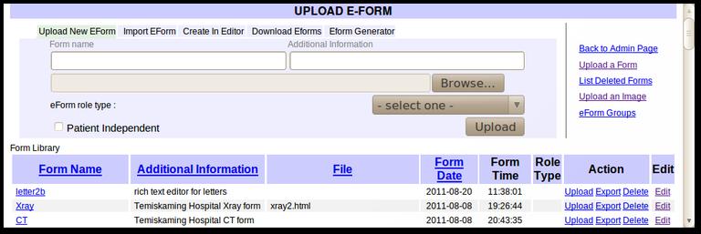 11x Upload eForm