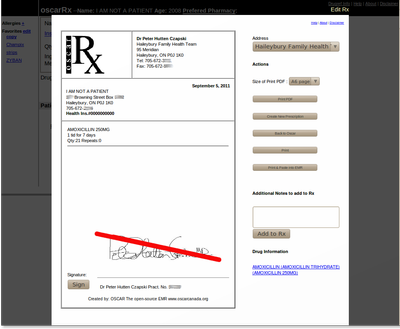 Signature Extension for Rx3b
