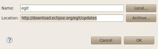 Install EGit